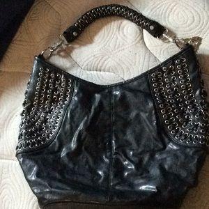 Handbags - Alfa black bag